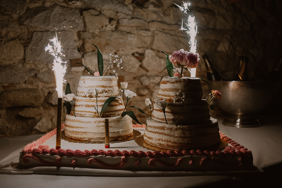 gateau mariage dax naked cake