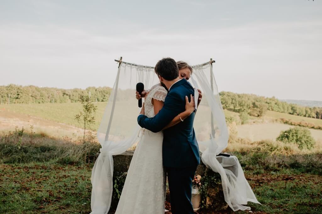 mariage au chateau de loustaou